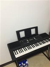 雅马哈电子琴E343九九成新,弹了几次,便宜甩卖啦,自提