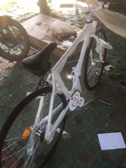 剛買幾天的自行車,本來打算上班騎的,冬天到了人太懶,都在騎電瓶車。現低價出售,有需求的朋友可以隨時聯...