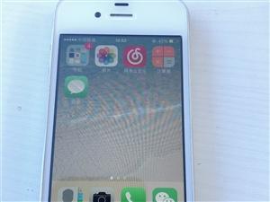 iPhone4完好,8G內存 當備用機不錯。價格300不講價。要的陽光水岸來看手機