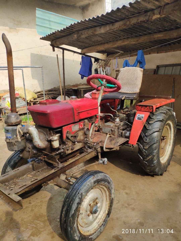 洛阳大轮胎,1115机器,自己家闲置下来的四轮车出