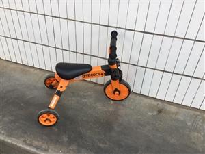 9成新三轮车150元,有人要不?双11才买的,我儿子不骑。还有很多正版玩具,本人要去外地,有意者电话...