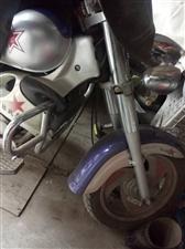 新感觉太子摩托车,9诚新,保养好,
