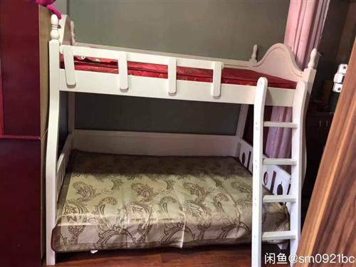 9成新  上下铺实木儿童床 因搬新家 床闲置 纯实木床 超级结实 质量很好  忍痛割爱 低价出售  ...