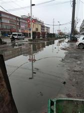 漓江路北段污水漫流