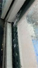 阳台冻冰,京科热力工作人员你们看到了吗?