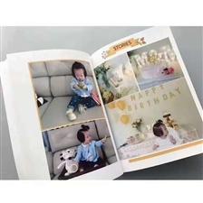 用小孩子的照片做成了一本书你知道吗