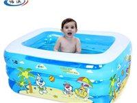 儿童充气游泳池,买来175元,现卖60元。