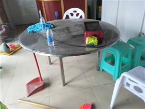 圆烧烤桌150,方桌100