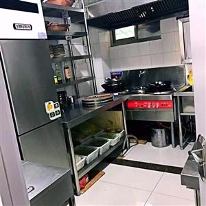 出售整体火锅店整体用具、实木电磁炉桌、四门冰柜、洗碗机、刨肉机等等