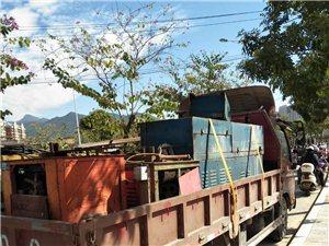 四米二栏板货车搬家,拉货