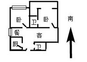开莱两室两厅两卫21层共24层
