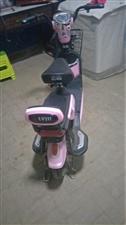 因家里人员有限多出一辆绿驹电动车,现挥泪甩卖,车况良好,一次充电可续航40~50公里,车颜色是粉红色