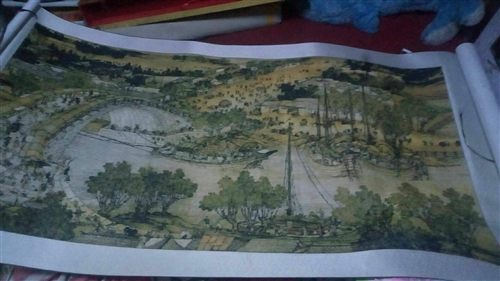 十字绣清明上河图出售 长2米宽1米05