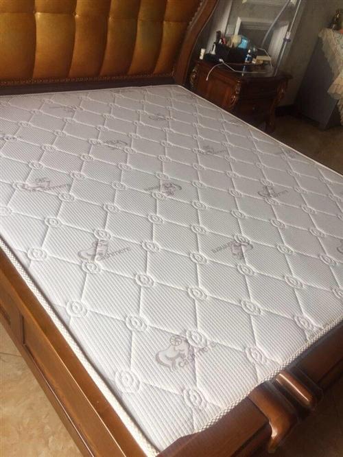 闲置椰棕床垫长1.8??2米厚5cm,7成新,地址华兴家园阳光广场附近,电梯楼自取。