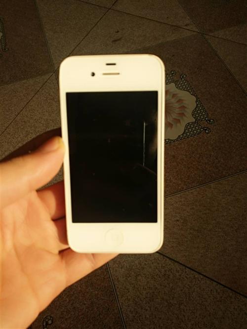 苹果4S什么毛病没有也没摔过也没拆开过有意要的200,电话18833498442