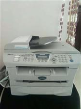 出售兄弟7420一体机。中文操作面板,显示英文,黑白打印20页/分钟,打印 复印 扫描 传真,带输稿...
