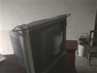 二十一英寸老电视可以看的还没开过封