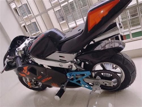 前几天刚买的49cc迷你摩托车  因没时间骑行所以特价出售 同城可来试车 送机油一瓶