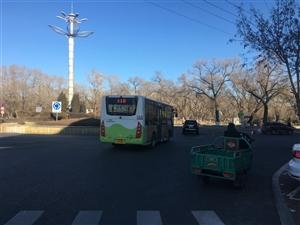 齐齐哈尔115路公交车开通运行实况~