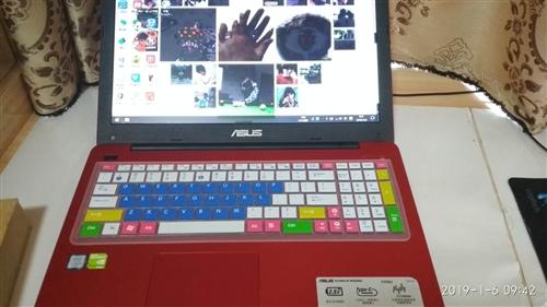 出售個人學習用華碩筆記本電腦一臺,官網購買的一臺華碩筆記本電腦,自己有一臺辦公筆記本用,這臺是用來給...