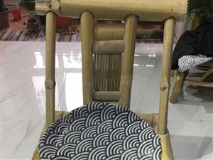 二手竹椅子,闲置了,要的话35一把,六十两把