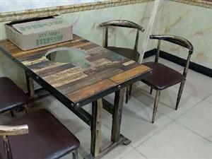 全新火锅桌椅板凳带燃气灶