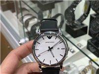 全新阿玛尼男士手表出售,原价1500,由于个人原因850出售,带包装说明书,未开封,外地包邮