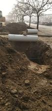 滨州市政污水工程挖断业主排污管线,