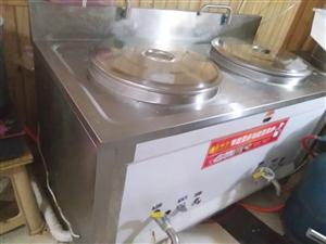 节能型多功能蒸煮炉低价出售   两口锅内径50公分   新锅2100元   现9成新   1000元...