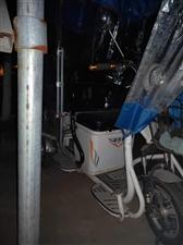 金价路三轮电动车一辆带倒车和雷达双排座后面带货架  带顶棚   遮风挡雨 适合老人接送小孩   买了...