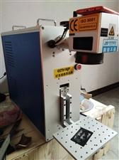 出售20瓦激光打标机因本人没时间做机器基本全新卖来两个月都在家放着机器可以打标图案文字在金属皮料木材...