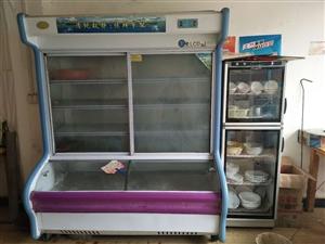 保鲜柜出售!价格2000元左右,店里还有消毒柜餐饮用具一起出售(东西在永和镇街上)可以看货议价