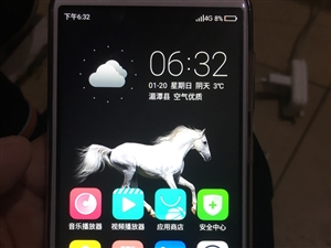 闲置手机一台  全屏  9.8成新  内存 16G。好用就完了。放起没用。长买一个月出点。现低价四百...