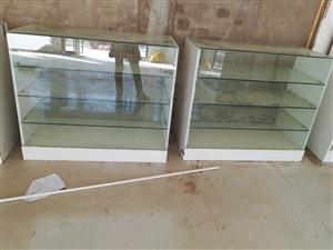 玻璃柜台,自己做的,共12个
