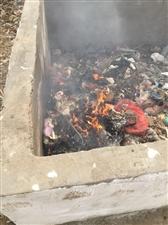 扫垃圾的人员,每次点燃垃圾池污染空气
