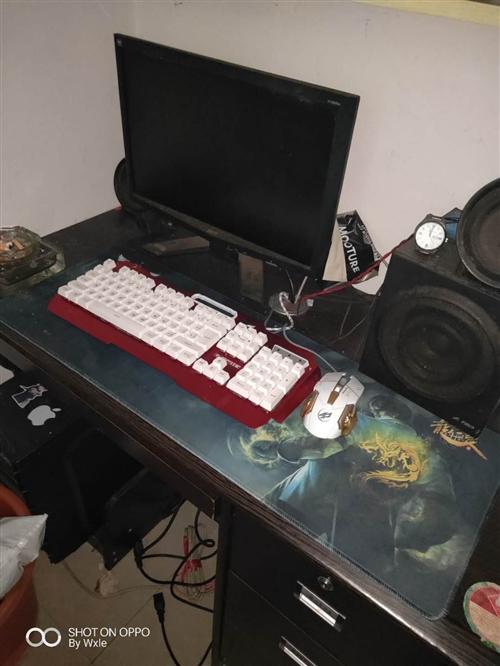 2017年买的,自用电脑,主机已出售,剩下显示屏和鼠键低价卖了,电脑占地方,低价处理。键盘鼠标是上个...