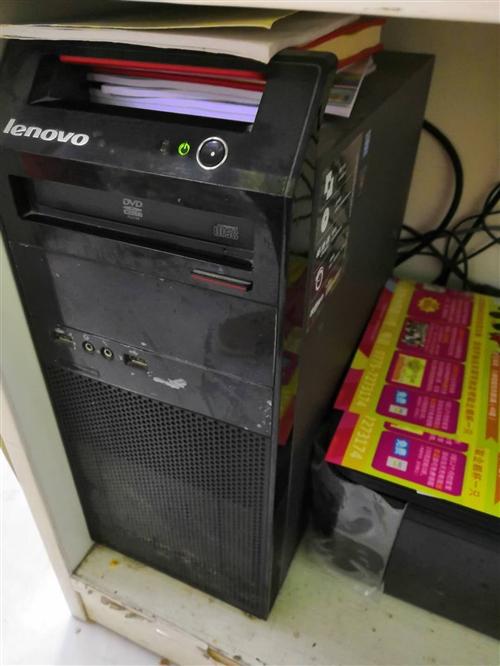 联想自用办公台式电脑,正常使用(890元)。自用电脑收银机一套,正常使用(980元)