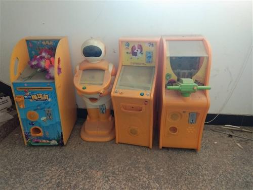 本人有儿童投币机3个,闲置,需低价出售