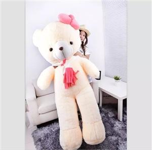 懒懒兔抱熊,米黄色1.6米全新喜欢的电话联系。