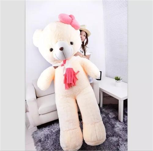 懶懶兔抱熊,米黃色1.6米全新喜歡的電話聯系。