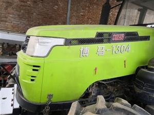 洛阳博马车头机器,状况很好,没有出过大劲,带秸秆粉碎机,旋地机,花生收货机,一套出售!