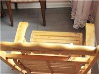 实木摇椅低价出售