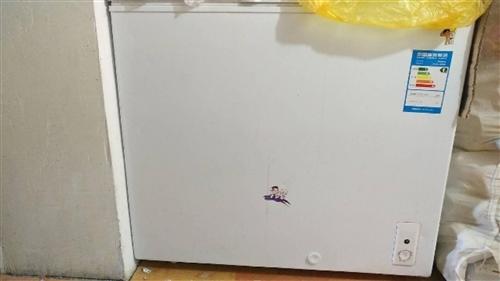海尔冰柜203升,买了没用过