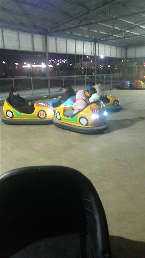 合阳九龙公园碰碰车带场地 低价转让15537969550