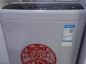 低价出售九成新海尔7.5公斤全自动洗衣机,正规商场购买,全国联保,有发票。