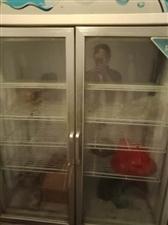 保鲜柜便宜处理500元,另有凉菜架子保鲜盒处理