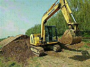 小松60-8挖机