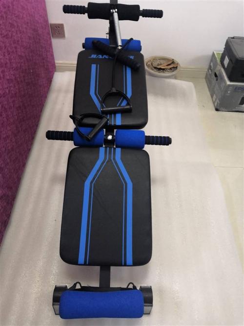 仰卧起坐健身器材家用多功能腹肌板全折叠仰卧板男女健身板