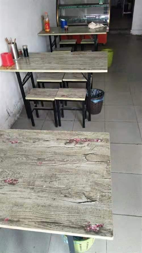 低价出售桌椅七套,有意者电话联系!15993375098