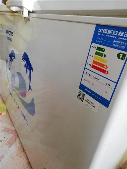 390升奥克斯冰柜2017年11月份购买 冻干果用了几个月 九成新 不议价